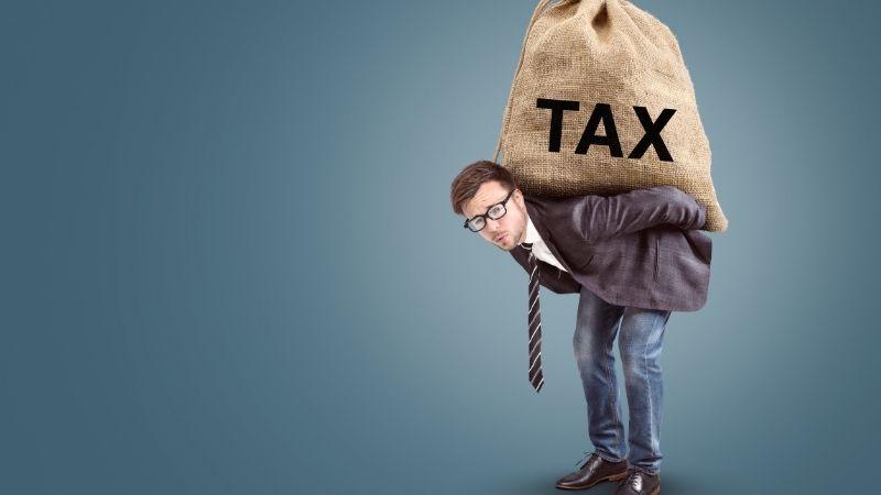federal income tax burden